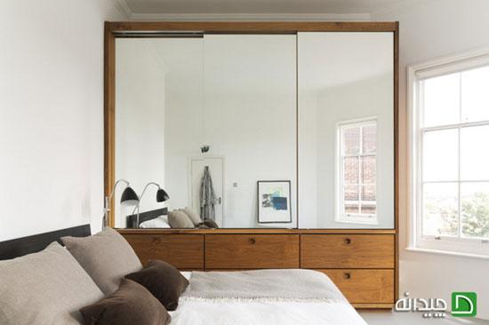 استفاده از رنگ سفید در اتاق خواب ، جذاب و متفاوت + تصاویر