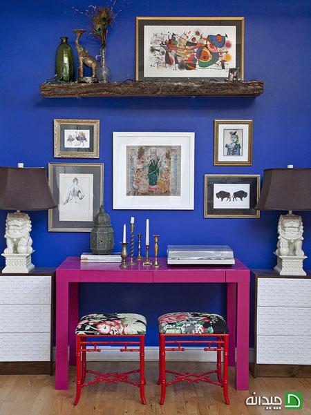 شلوغ بازی و خودنمایی رنگ ها در خانه شما +تصاویر