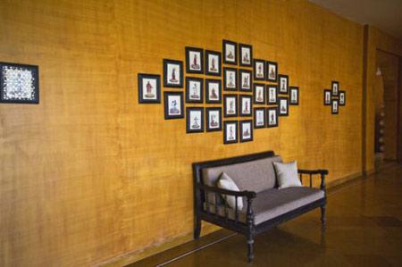 چیدن اصولی قاب ها در دکوراسیون داخلی + تصاویر