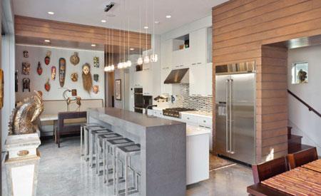 متریال های زیبا و بادوام برای کف پوش آشپزخانه + تصاویر