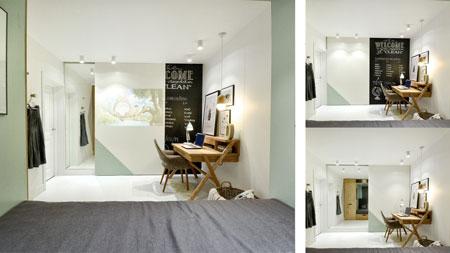 طراحی اتاق ۱۴ متری با ایده های بی نظیر + تصاویر
