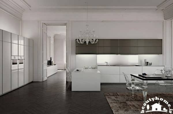 دکوراسیون آشپزخانه مینیمال جدید و مدرن + تصاویر