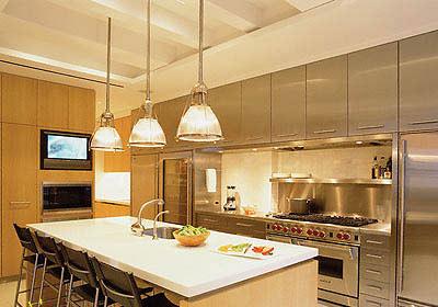 نورپردازی خاص برای زیبا تر شدن آشپزخانه+تصاویر