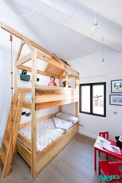 نمونه ای از چیدمان داخلی خانه به سبک اسپانیایی +عکس