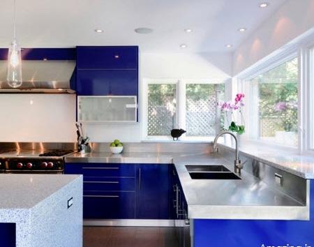 مدرن ترین کابینت آشپزخانه برای خانه شیک+ تصاویر