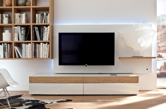 مدل میز تلویزیون مدرن و چیدمان آن در منزل + تصاویر