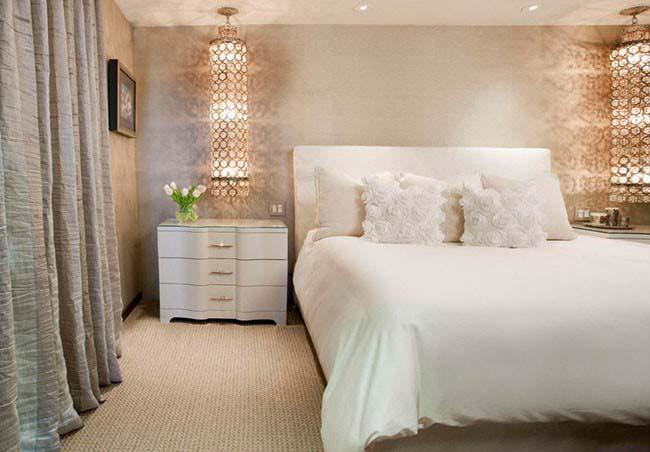نورپردازی های جدید و مدرن برای داشتن اتاق خواب لوکس و رویایی+تصاویر