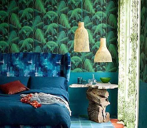 رنگ سبز آبی و معجزه ای که در دکوراسیون میتواند داشته باشد تصاویر