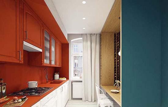دکوراسیون آپارتمان فوق العاده شیک را با اشکال هندسی بسازید تصاویر