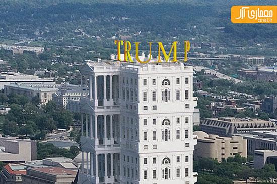 کاخ سفید به سبک دونالد ترامپ برای سال ۲۰۲۰ +تصاویر