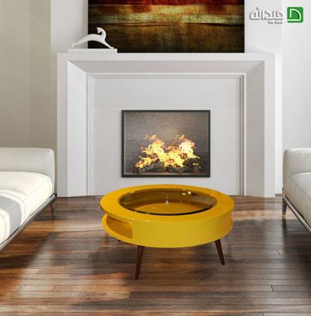 میز جلو مبلی ، جزء جدایی ناپذیر دکوراسیون خانه با کاربردهای فراوان +تصاویر