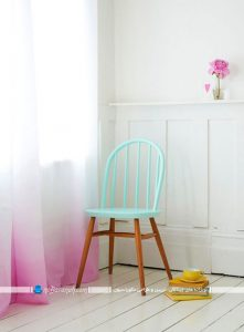 رنگ کردن صندلی