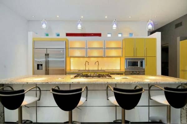 کابینت آشپزخانه خود را از میان این جنس ها انتخاب کنید +تصاویر
