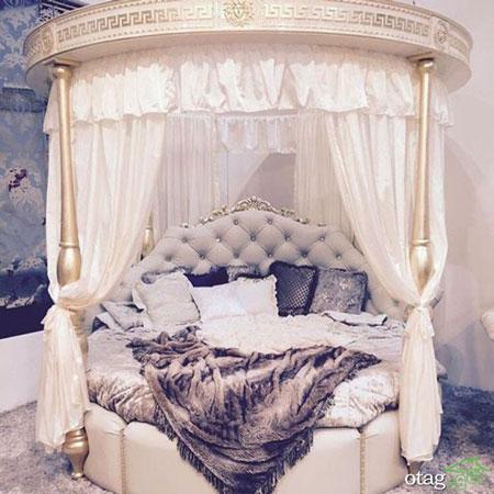 تخت خواب هایی مخصوص دختر خانم های پرنسس +تصاویر