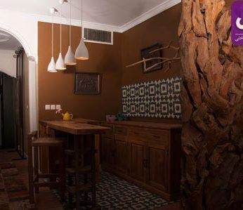 دفتر ی از جنس خشت و چوب حس خوب گذشته ها +تصاویر
