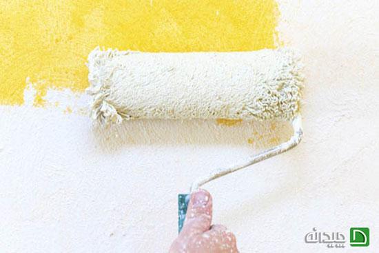 رنگ زدن دیوار خانه و این ترفندهای کاربردی +تصاویر