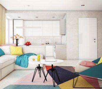 دکوراسیون خانه با رنگ های شاد در سبک های مدرن و امروزی+تصاویر