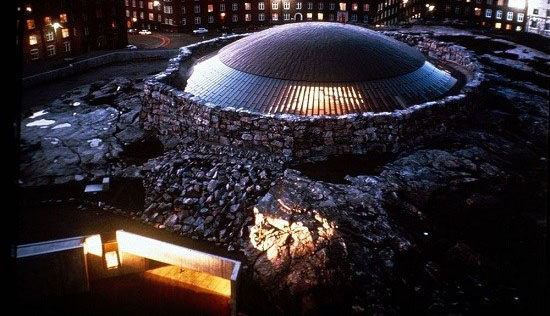 کلیسای هلسینکی در فنلاند با طراحی بسیار جالب +تصاویر