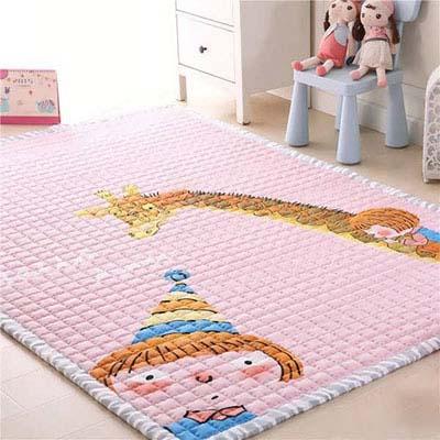 جدیدترین مدل های فرش اتاق کودک برای دکوراسیونی متفاوت تصاویر
