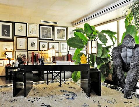 سری در دکوراسیون خانه مشهورترین طراحان مد در جهان تصاویر