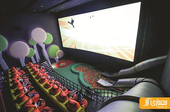 معماری سینما ، سینماهایی که تماشایی تز فیلم ها هستند +تصاویر