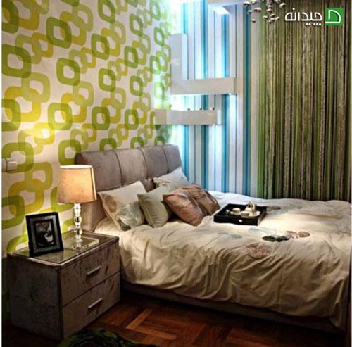 بهترین ایده ها برای رنگ سبز در دکوراسیون خانه های مدرن تصاویر