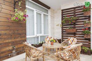 طراحی فضای سبز در خانه های ایرانی