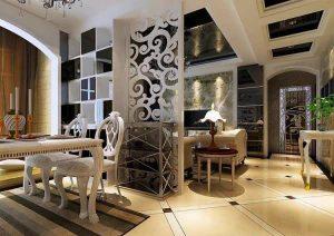 دکوراسیون اتاق پذیرایی کلاسیک