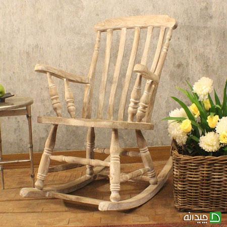 صندلی راک | گهواره آرامش بخش در دکوراسیون خانه! +تصاویر