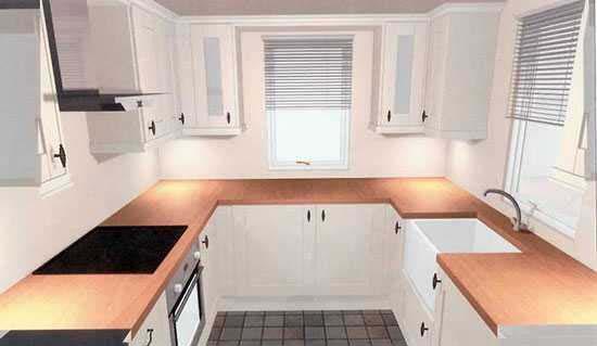 آشپزخانه نقلی خود را با این ترفندها دلباز تر و بزرگ تر نشان دهید+تصاویر