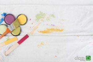 رنگ زدن دیوار خانه