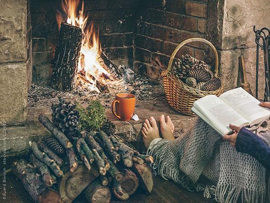 ایده هایی برای گرم کردن خونه در روزای کوتاه زمستون +تصاویر