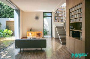 طراحی خانه برای عاشقان کتاب