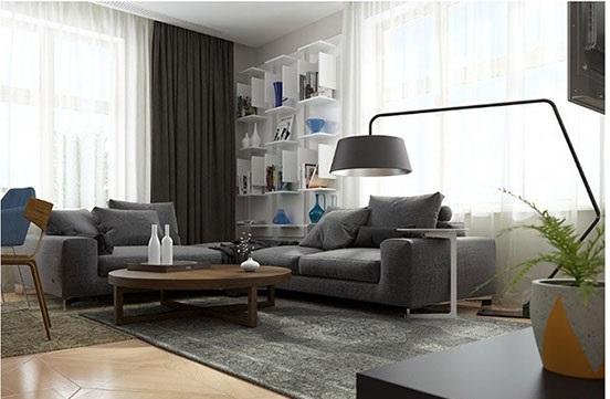 طراحی زیباترین چیدمان برای دکوراسیون آپارتمان۵۰ متری جدید+تصاویر