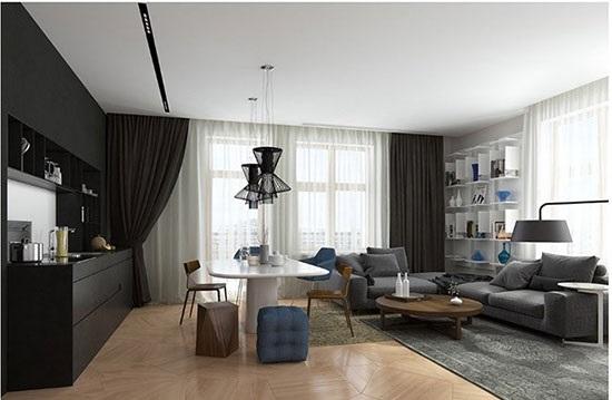 دکوراسیون آپارتمان50 متری