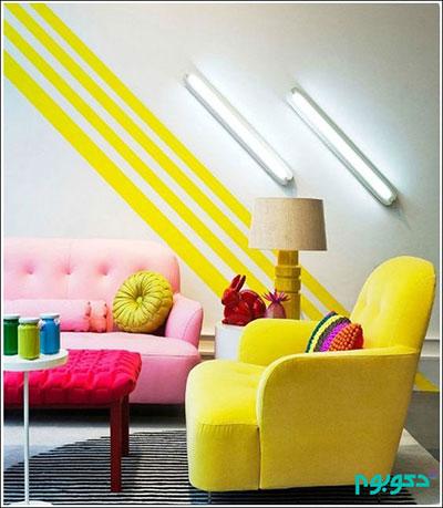 خانه هایی رنگین و دوست داشتنی +تصاویر