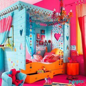 خانه هایی رنگین