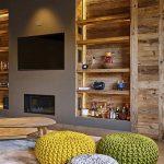 دکوراسیون خانه چوبی فرانسوی +تصاویر