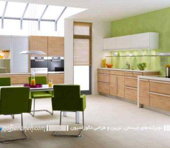 دکوراسیون آشپزخانه هایی به سبک ایرانی +تصاویر