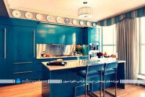 دکوراسیون آشپزخانه هایی به سبک ایرانی