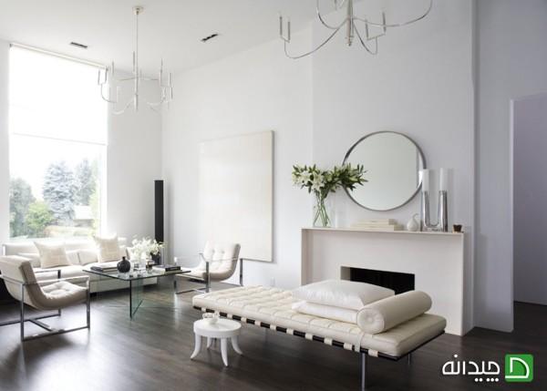 انواع سبکهای معماری داخلی آپارتمانهای مدرن +تصاویر