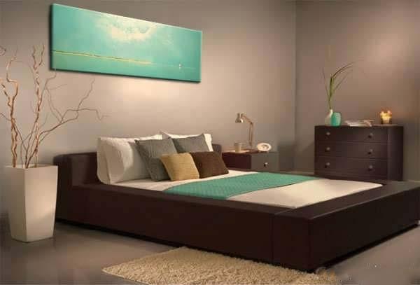 فنگ شویی اتاق خواب آرامبخش و زیبا +تصاویر