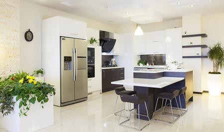 رعایت اصول فنگ شویی در آشپزخانه برای دکوراسیون بی نظیر+تصاویر