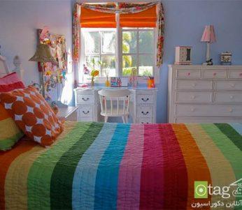 اتاق خواب با دکوراسیون رمانتیک +تصاویر