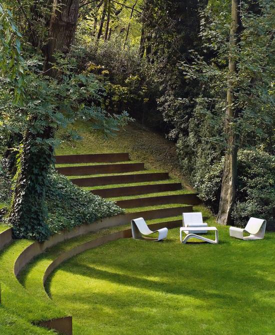 ایده های زیبا و نوین طراحی دکوراسیون حیاط و آلاچیق + تصویر