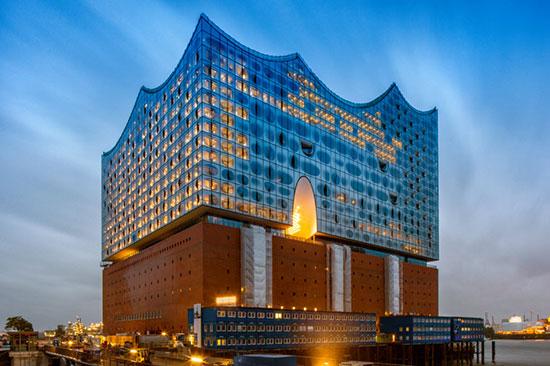 سالن جدید کنسرت هامبورگ ، شاهکار معماری از نظر آکوستیک +تصاویر