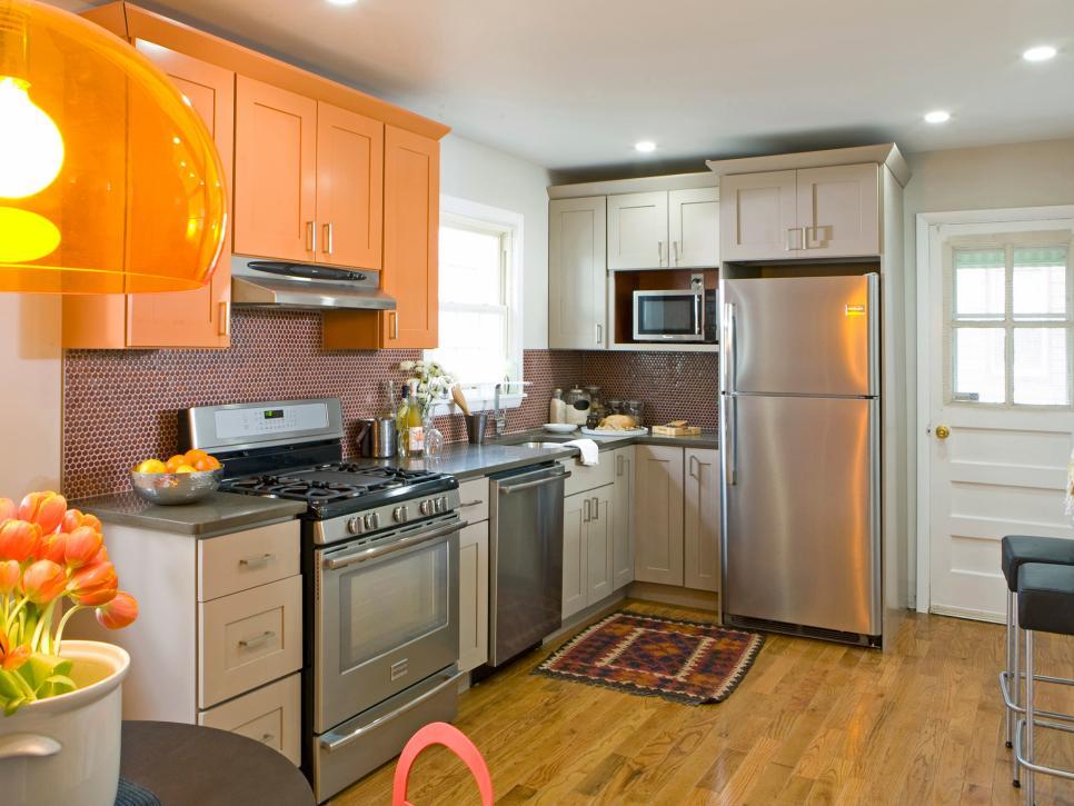 رنگهای مناسب آشپزخانه های کوچک +تصاویر
