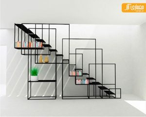 ایده هایی خلاقانه برای استفاده بهینه از زیر پله