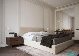 دکوراسیون مینیمال در آپارتمانی دو خوابه