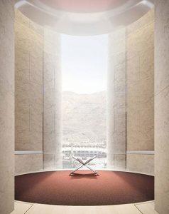 طراحی هتلی لوکس در مکه